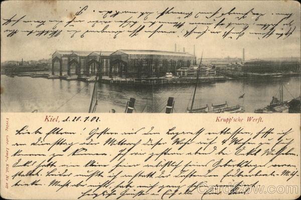 Krupp Shipyard Kiel Germany
