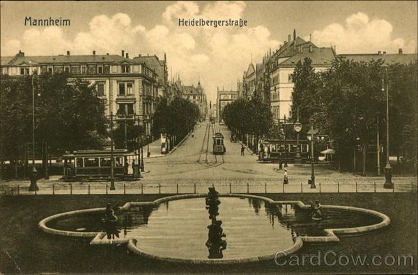 Heidelbergerstrasse Mannheim Germany