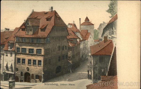 Nurnberg, Durer-Haus Nuremberg Germany