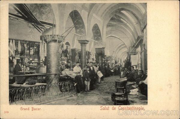 Grand Bazaar Istanbul Turkey Greece, Turkey, Balkan States