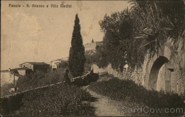 S. Ansano e Villa Medici Fiesole Italy