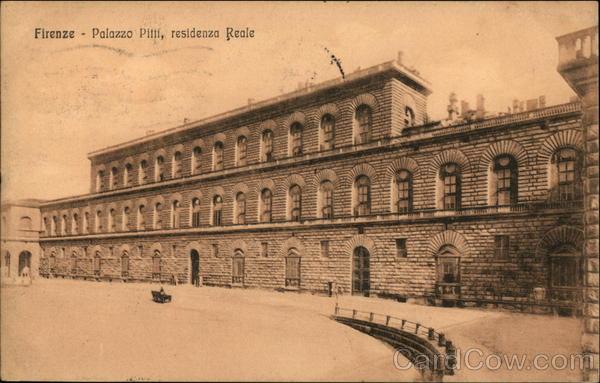 Palazzo Pitti, Residenza Reale Florence Italy