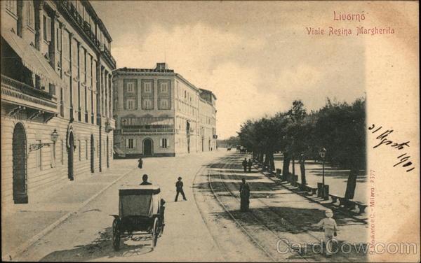 Viale Regina Margherita Livorno Italy