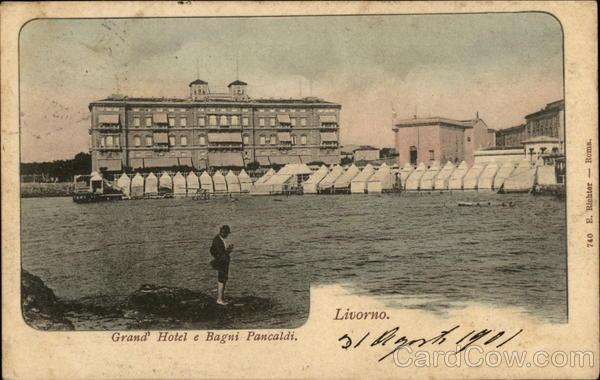 Grand Hotel e Bagui Pancaldi Livorno Italy