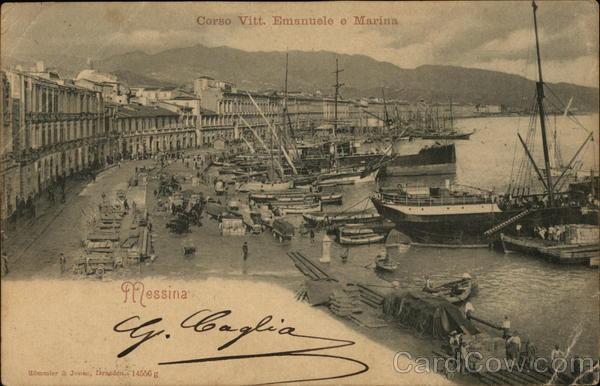 Corso Vitt. Emanuele e Marina Messina Italy