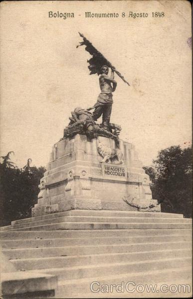 Monumento 8 Agosto 1848 Bologna Italy