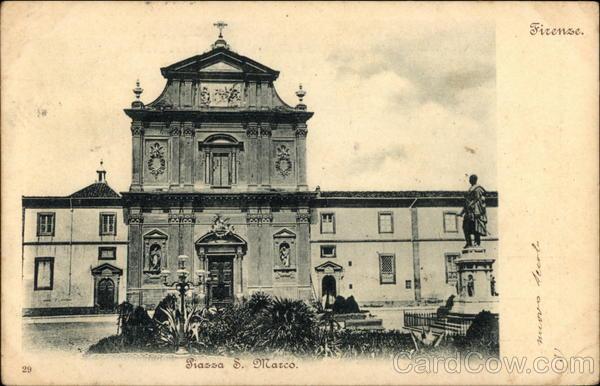 Piassa San Marco Florence Italy