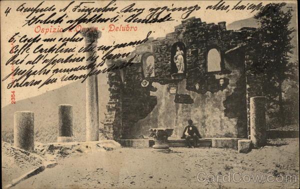 Hospice of Oropa Biella Italy