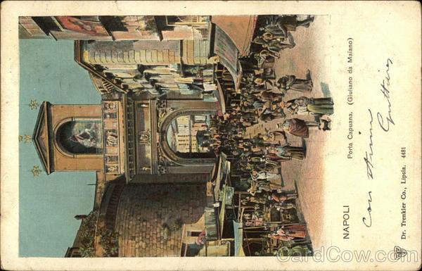 Porta Capuana Naples Italy