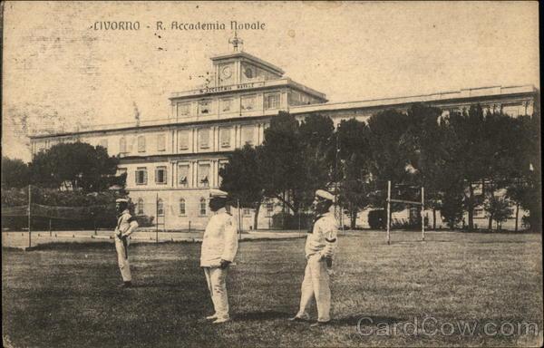 Naval Academy Livorno Italy