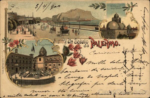 Un Saluto da Palermo Italy