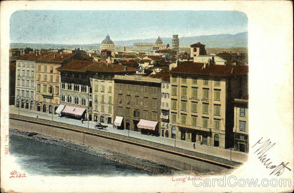 Lungarno Pisa Italy
