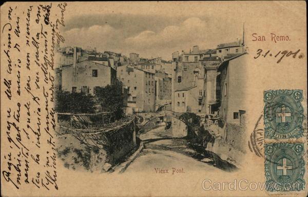 Vieux pont San Remo Italy