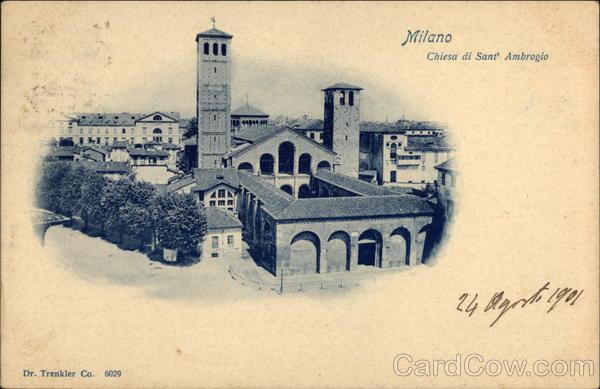Chiesa di Sant' Ambrogio Milan Italy