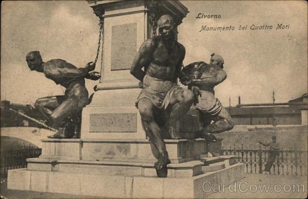 Monumento dei Quattro Mori Livorno Italy