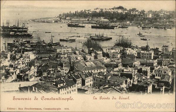 Souvenir de Constantinople Constaninople (Istanbul) Turkey