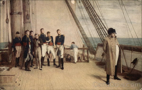 Napoleon on board the Bellerophon William Quiller Orchardson