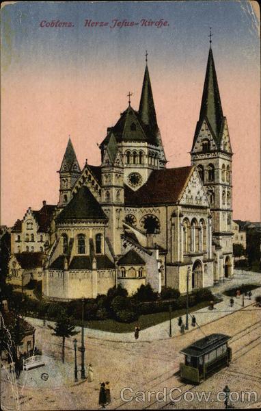 Herz-Jesu-Kirche Koblenz Germany
