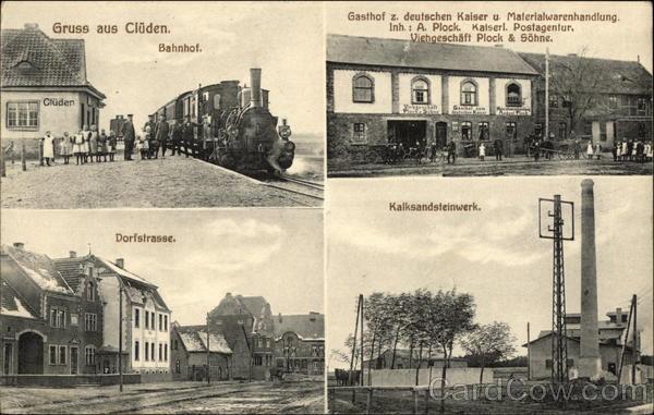 Gruss aus Cluden Germany