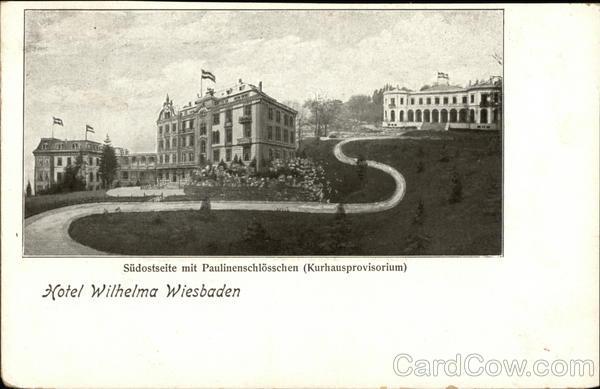 Hotel Wilhelma Wiesbaden Germany