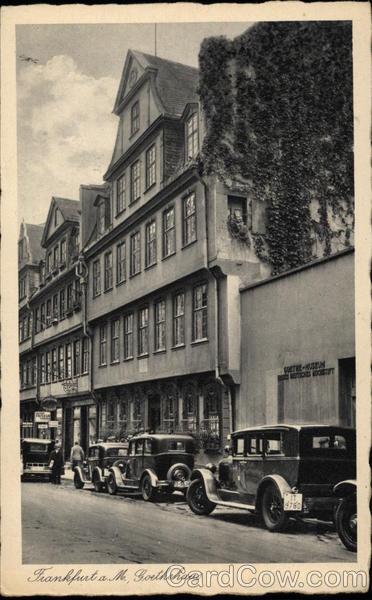 Goethehaus Frankfurt Germany