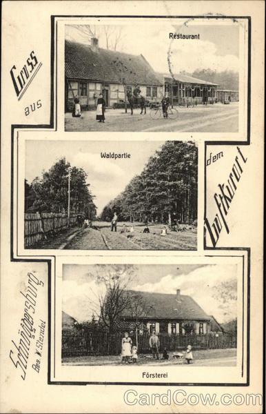 Gruss aus dem Luftkorort Schnoggerburg Germany