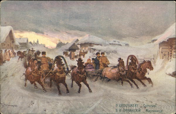 P. Grousinsky - Carneval Russia