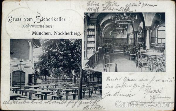 Zacherlkeller (Salvatorkeller), Nockherberg Munich Germany