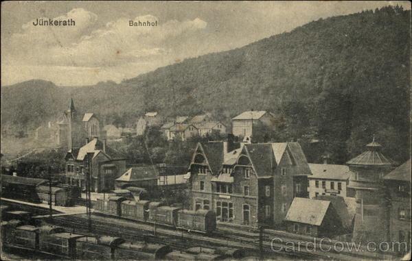 Bahnhof - Railway Station Junkerath Germany