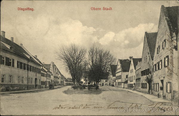 Obere Stadt Dingolfing Germany