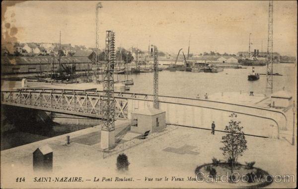 Le Pont Roulant Saint-Nazaire France