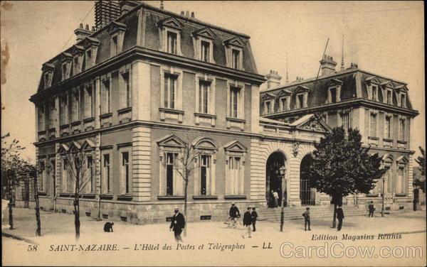 L'Hotel des Postes et Telegraphes Saint-Nazaire France
