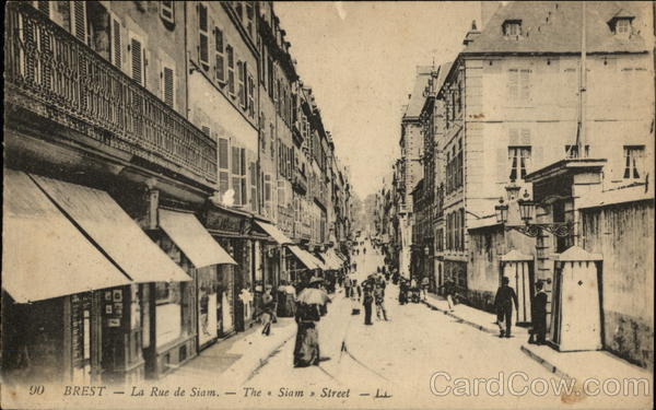 la Rue de Siam Brest France
