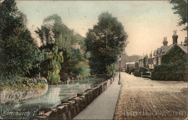 Village Street, Isle of Wight Bonchurch England