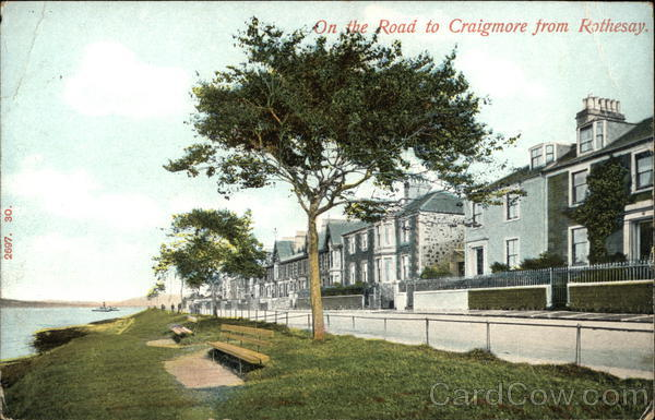On the Road to Graigmore from Rothesay Rothsay United Kingdom