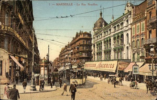 La Rue Noailles Marseille France