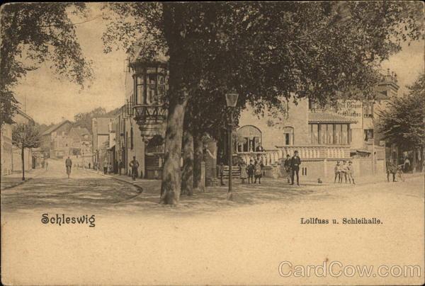 Lollfuss u. Schleihalle Schleswig Germany