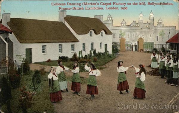 Colleens Dancing, Ballymaclinton London England