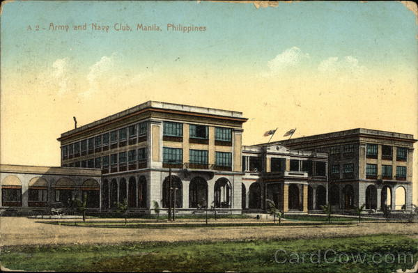 Army and Navy Club Manila Philippines Southeast Asia