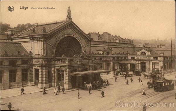 Gare des Guillemins Liege Belgium Benelux Countries