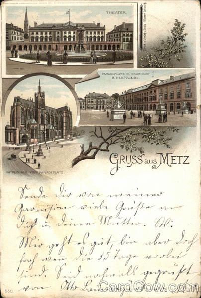 Greetings from Metz France