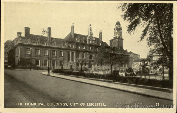 The Municipal Buildings Leicester England