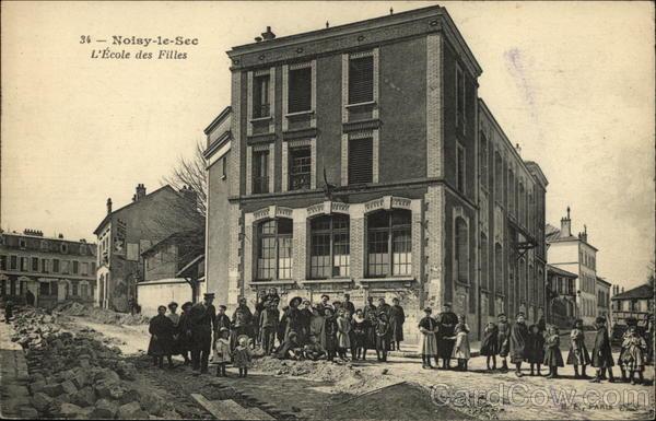 L'Ecole des Filles, Noisy-le-Sec Paris France