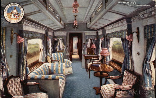 London & North Western Railway Company - Her Majesty's Day Compartment