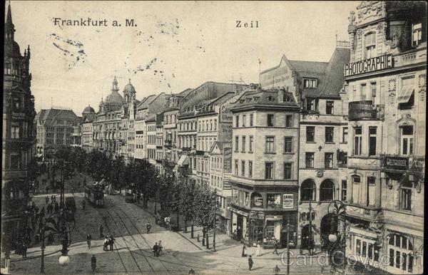 The Zeil Frankfurt Germany