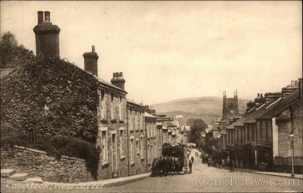 West Street Tavistock England Devon