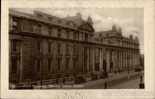 Government Buildings, Merrion Street Dublin Ireland