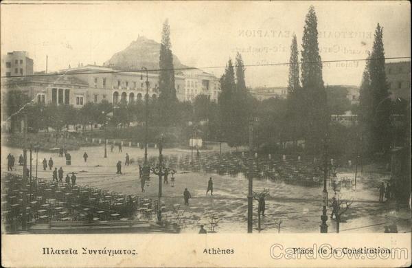 Constitution Square - Syntagma Athens Greece Greece, Turkey, Balkan States