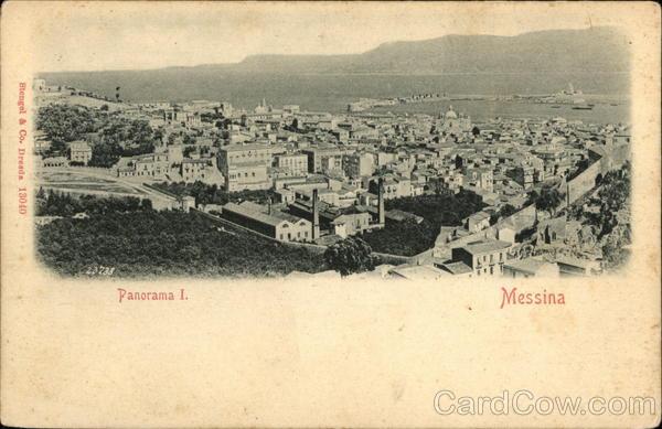 Panorama I. - Messina Italy