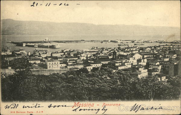 Messina - Panorama Italy
